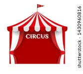 circus tent poster background...   Shutterstock .eps vector #1430960816