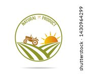 farm fresh of vector emblems... | Shutterstock .eps vector #1430964299