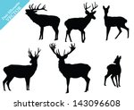 animal,antler,art,black,buck deer,cattle,collection,cute,deer,design,doe,drawing,element,fallow deer,fur