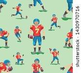 soccer vector footballer... | Shutterstock .eps vector #1430970716