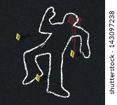 Crime Scene Illustration....