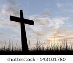 Concept Conceptual Black Cross...