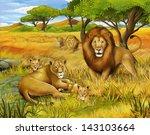 The Safari   Illustration For...