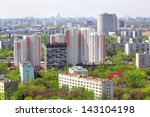 bedroom community in moscow | Shutterstock . vector #143104198