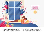 vector concept landing page... | Shutterstock .eps vector #1431058400