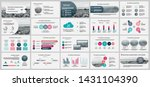 presentation template  colorful ... | Shutterstock .eps vector #1431104390