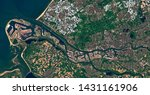 satellite image of rotterdam an ...