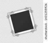 polaroid photo frame. square... | Shutterstock .eps vector #1431255926