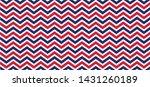 usa flag style seamless pattern ... | Shutterstock .eps vector #1431260189