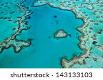 great barrier reef whitsundays... | Shutterstock . vector #143133103