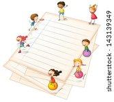 Illustration Of The Children...