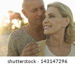 Closeup Of Happy Senior Couple...