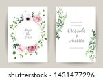 classic floral vector design... | Shutterstock .eps vector #1431477296