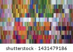 colorful rectangular pixels...   Shutterstock .eps vector #1431479186