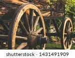 Wooden Wagon Wheel Decoration...