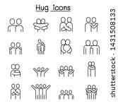 lover  hug  friendship ... | Shutterstock .eps vector #1431508133