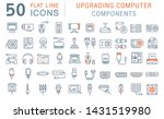Set Of Vector Line Icons Of...