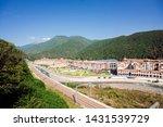 """ski resort """"gorky gorod"""" in...   Shutterstock . vector #1431539729"""