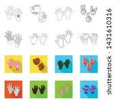 vector illustration of... | Shutterstock .eps vector #1431610316