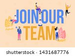 group of employee with join our ...