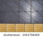 beautiful patterned tile... | Shutterstock . vector #1431706403