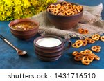 still life in a rustic style.... | Shutterstock . vector #1431716510