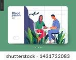 medical tests template   blood... | Shutterstock .eps vector #1431732083
