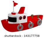 Tug Boat Vector - Download Free Vector Art, Stock Graphics & Images