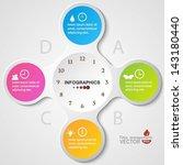 modern soft color design... | Shutterstock .eps vector #143180440