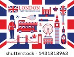 london  england and united...   Shutterstock .eps vector #1431818963