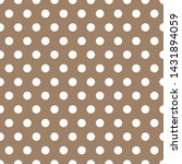 Beige Seamless Background With...
