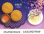 mid autumn festival or moon... | Shutterstock .eps vector #1431907949