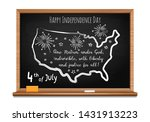 happy independence day. words... | Shutterstock .eps vector #1431913223