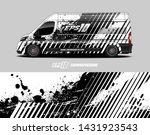 car wrap decal design concept.  ... | Shutterstock .eps vector #1431923543