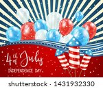 independence day theme. blue... | Shutterstock .eps vector #1431932330