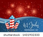 independence day theme.... | Shutterstock .eps vector #1431932333