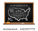 happy independence day. words... | Shutterstock .eps vector #1431957779