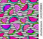fashion tropics funny... | Shutterstock .eps vector #1431958883