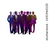 business  group of business... | Shutterstock .eps vector #1431964133