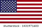 grunge usa flag with white...   Shutterstock .eps vector #1431971603