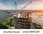 construction site of high rise...   Shutterstock . vector #1431989339
