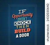 typographic quote design   'if... | Shutterstock .eps vector #1432030640