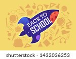 back to school. colorful...   Shutterstock .eps vector #1432036253
