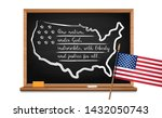 words us oath of allegiance...   Shutterstock .eps vector #1432050743