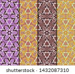 seamless geometric pattern....   Shutterstock .eps vector #1432087310