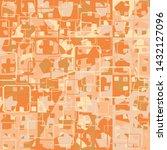 seamless pattern. the... | Shutterstock .eps vector #1432127096