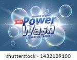 laundry detergent packaging... | Shutterstock .eps vector #1432129100
