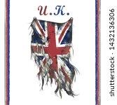 united kingdom flag... | Shutterstock .eps vector #1432136306