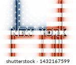 new york city name in geometry... | Shutterstock . vector #1432167599