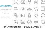 set of web icons  such as...